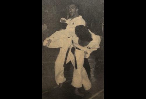World Karate Champion Stephen Thompson