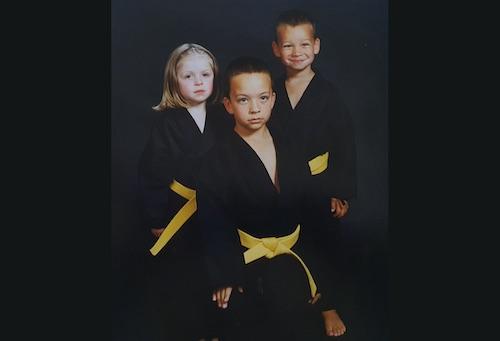 The Karate Thompson Kids