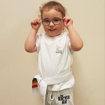 3 to 4 year old karate kids
