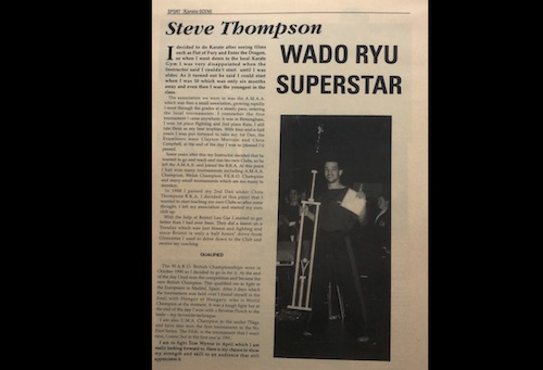 Wado Ryu Superstar Kicx Gloucester