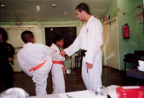 Thompson starts teaching karate in gloucester