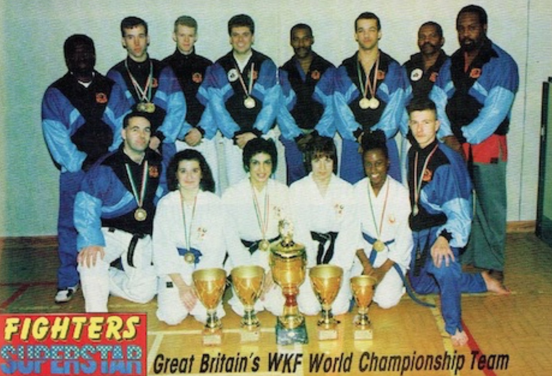 World Championship Squad with Clive Cooper