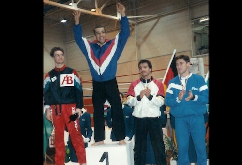 WAKO European Champion 1990 Stephen Thompson
