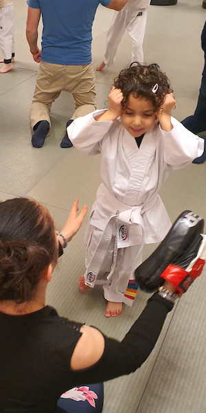 Girl karate gloucester kicx