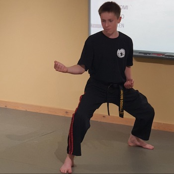 Karate Teenager at Kicx Gloucester