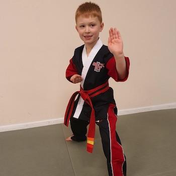Martial Arts Boy in Gloucester Kicx