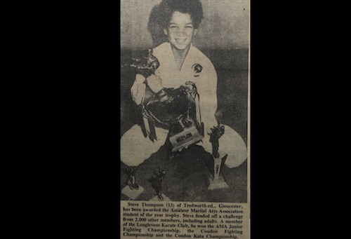 Karate Kid Gloucester Stephen Thompson