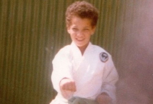 Karate Gloucester Boy A Young Stephen Thompson