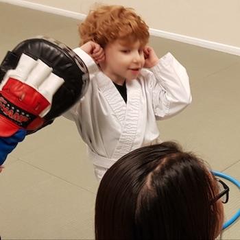 kicx karate child 3 years old